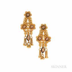 High Karat Gold Earrings