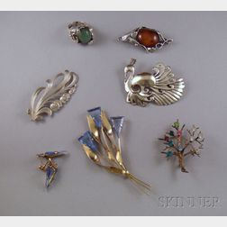 Small Group of Assorted Sterling Silver Jewelry