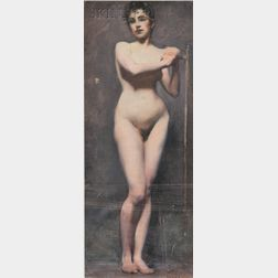 Eric L. (Frederic) Pape (American, 1870-1938)      Standing Nude