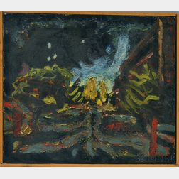 Riley Brewster (American, 20th Century)      Untitled