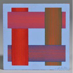 Richard Joseph Anuszkiewicz (American, b. 1930)      Untitled.