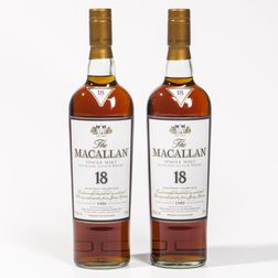 Macallan 18 Years Old, 2 750ml bottles