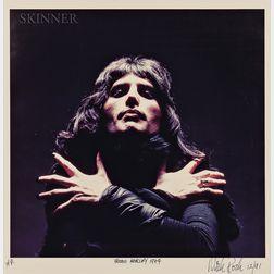 Mick Rock (British, b. 1948)      Freddie Mercury
