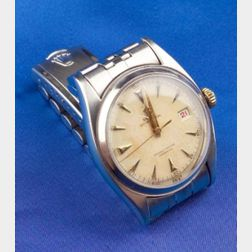 Gentleman's Stainless Steel Wristwatch, Rolex