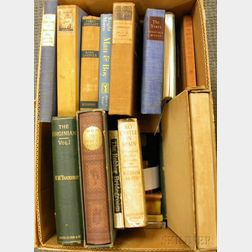 Modern Literature, Approximately Thirty Volumes: