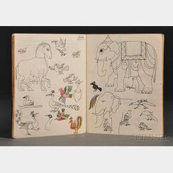 Lent, Blair (1930-2009) Artist's Idea Notebooks.