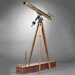 Alvan Clark & Sons 4-inch F/15 Refractor Telescope