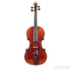 German Violin, Oskar C. Meinel, Markneukirchen, 1938