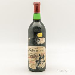 Sebastiani Proprietors Reserve Cabernet Sauvignon 1974, 1 bottle
