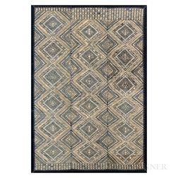 Chinese Minority Silk Wedding Blanket, Buyi