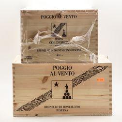 Col dOrcia Brunello di Montalcino Riserva Poggio Al Vento 2010, 12 bottles (2 x owc)