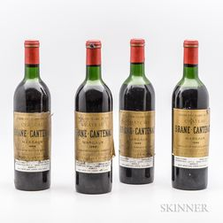 Chateau Brane Cantenac 1959, 4 bottles