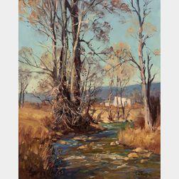 Paul Strisik (American, 1918-1998)      Autumn Patterns