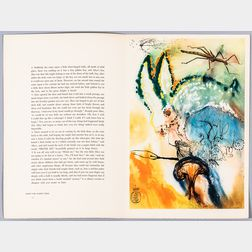 Dali, Salvador (1904-1989) and Dodgson, Charles Lutwidge (Lewis Carroll, 1832-1898) Alice's Adventures in Wonderland.