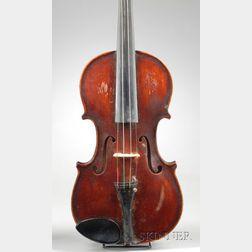American Violin, J.P. Giroux, Waterville, 1909