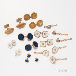 Group of Cuff Links