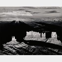 William A. Garnett (American, b. 1916)      Monument Valley, Utah, 1956.