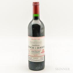 Chateau Lynch Bages 1995, 1 bottle