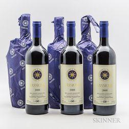 Tenuta San Guido Sassicaia 2008, 6 bottles