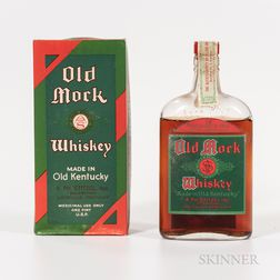 Old Mork 17 Years Old 1916, 1 pint bottle (oc) Spirits cannot be shipped. Please see http://bit.ly/sk-spirits for more info.