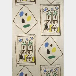 Picasso Screen Printed Fabric