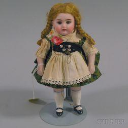 Miniature Bisque Composition Doll
