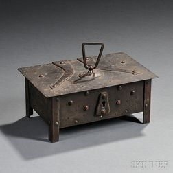 Arts & Crafts Metalwork Box