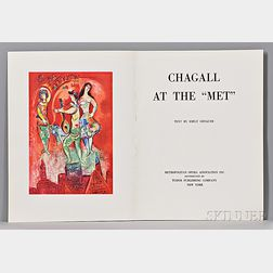 "Chagall, Marc (1887-1985) Chagall at the ""Met""   Text by Emily Genauer (1911-2002)."