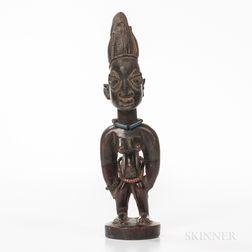 Female Yoruba Ibeji Figure