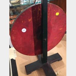 Painted Standing Wheel of Chance