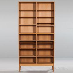 Two Borge Mogensen for Karl Andersson & Soner Øresund Oak Bookcases