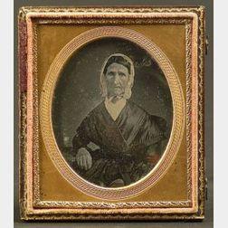 Daguerreotype Portrait of an Elderly Lady