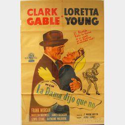 La Dama Dijo Que No (Key To The City)   Movie Poster