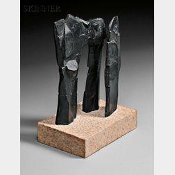 Dimitri Hadzi (American, 1921-2006)      Pillars of Hercules III