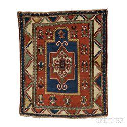 Fachralo Kazak Prayer Rug