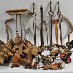 Collection of Woodworking Tools