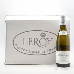 Leroy Bourgogne Blanc 2016, 12 bottles (oc)