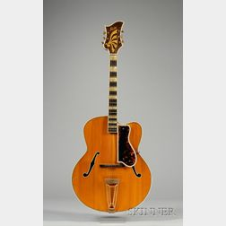Swedish Guitar, AB Herman Carlson Levin, Goteborg, c. 1949, Model Deluxe