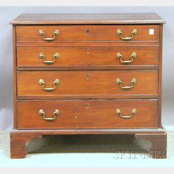 George II Mahogany Three-drawer Chest