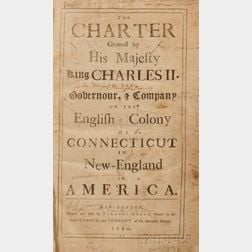 Connecticut. The Charter Granted by His Majesty King Charles II