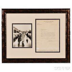 Ness, Eliot (1903-1957) Typed Letter Signed, Cleveland, 12 September 1940.