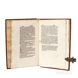 Rampigollis, Antonius (dates unknown) and Bindo de Senis (d. 1390) Aurea Biblia, sive Repertorium Aureum Bibliorum.