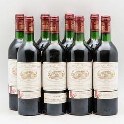 Chateau Margaux 1981, 8 bottles