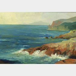 American School, 20th Century    Monhegan Headlands