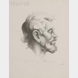 Thomas Hart Benton (American, 1889-1975)      Tom Keefer