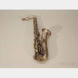 Selmer, Tenor Saxophone, New York