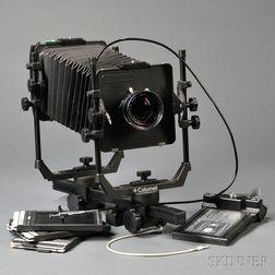 Calumet 4x5 View Camera and Lens