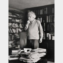 Ernst Haas (Austrian/American, 1921-1986)      Albert Einstein, Princeton, New Jersey
