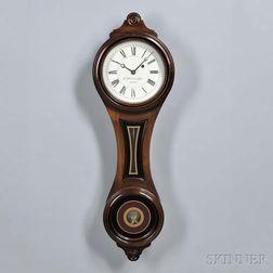 E. Howard & Co. No. 10 Reissue Figure-eight Wall Clock