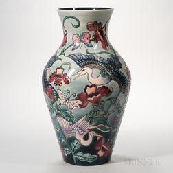 Large Moorcroft Pottery Kyoto Vase